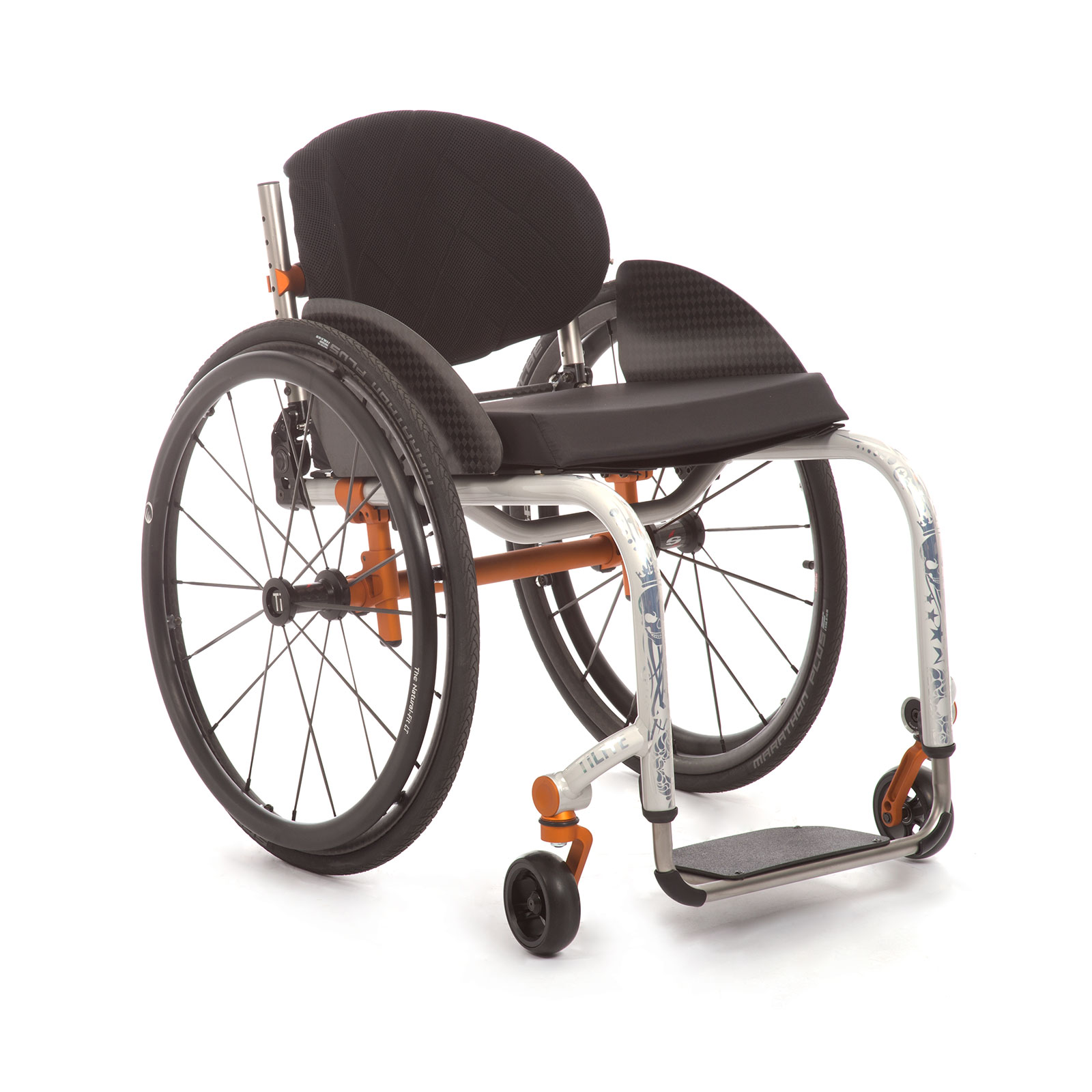 The Front Side of the Wheelchair.