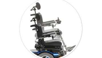 "PS JR 8"" Power Seat Elevator Detail"