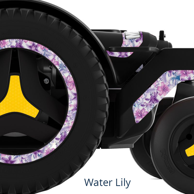 Water Lily Drive Wheel of Powered Wheelchair