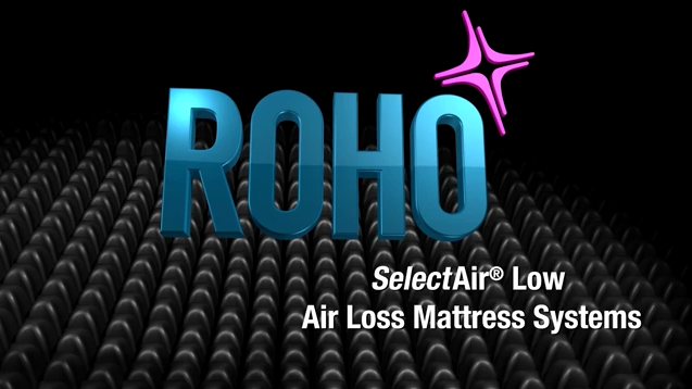 ROHO Select Air of Low Air Loss Mattress Systems.