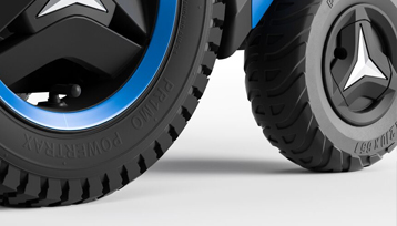 Primo POWERTRAX Wheel