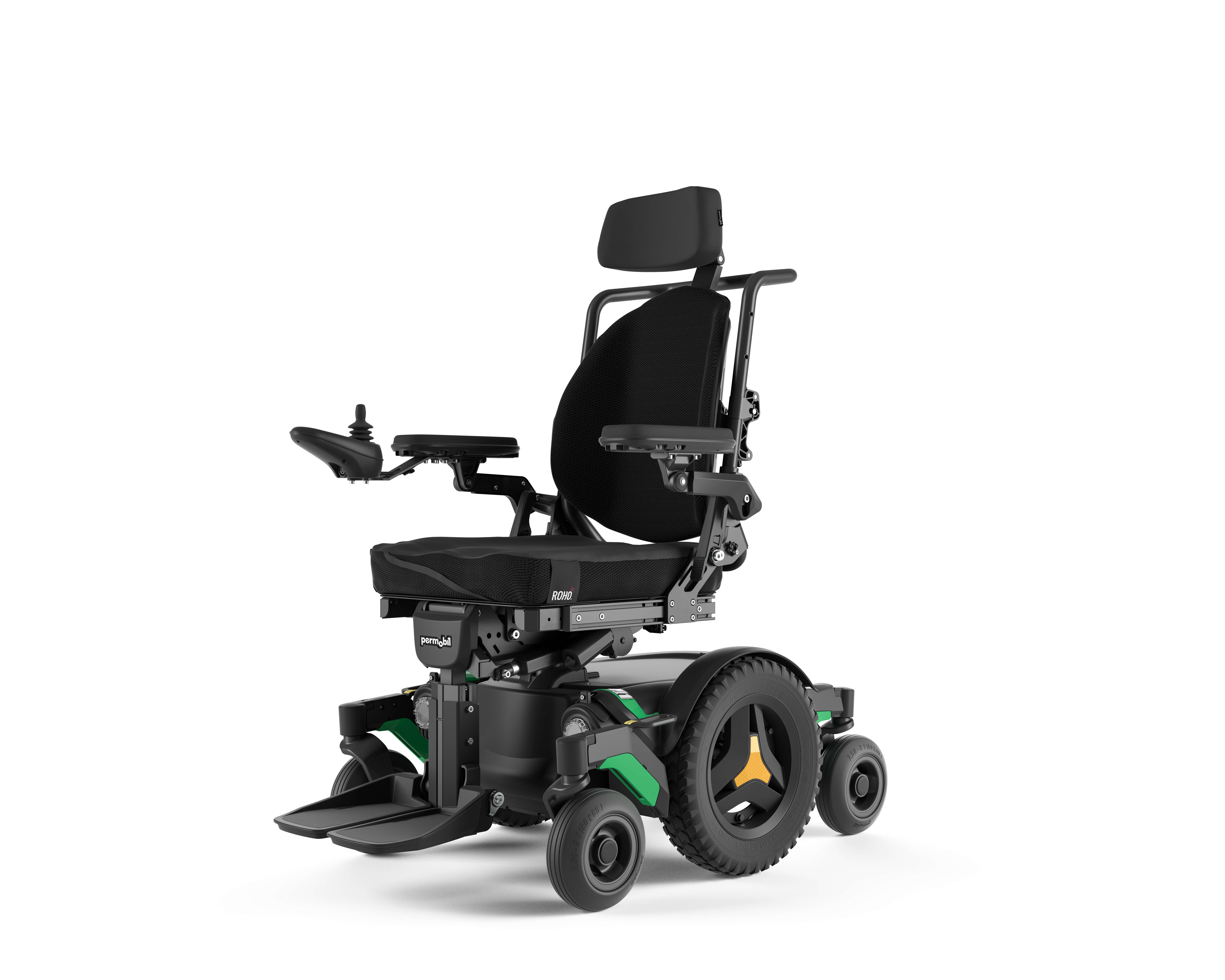 M1 Mid-Left of Power Wheelchair