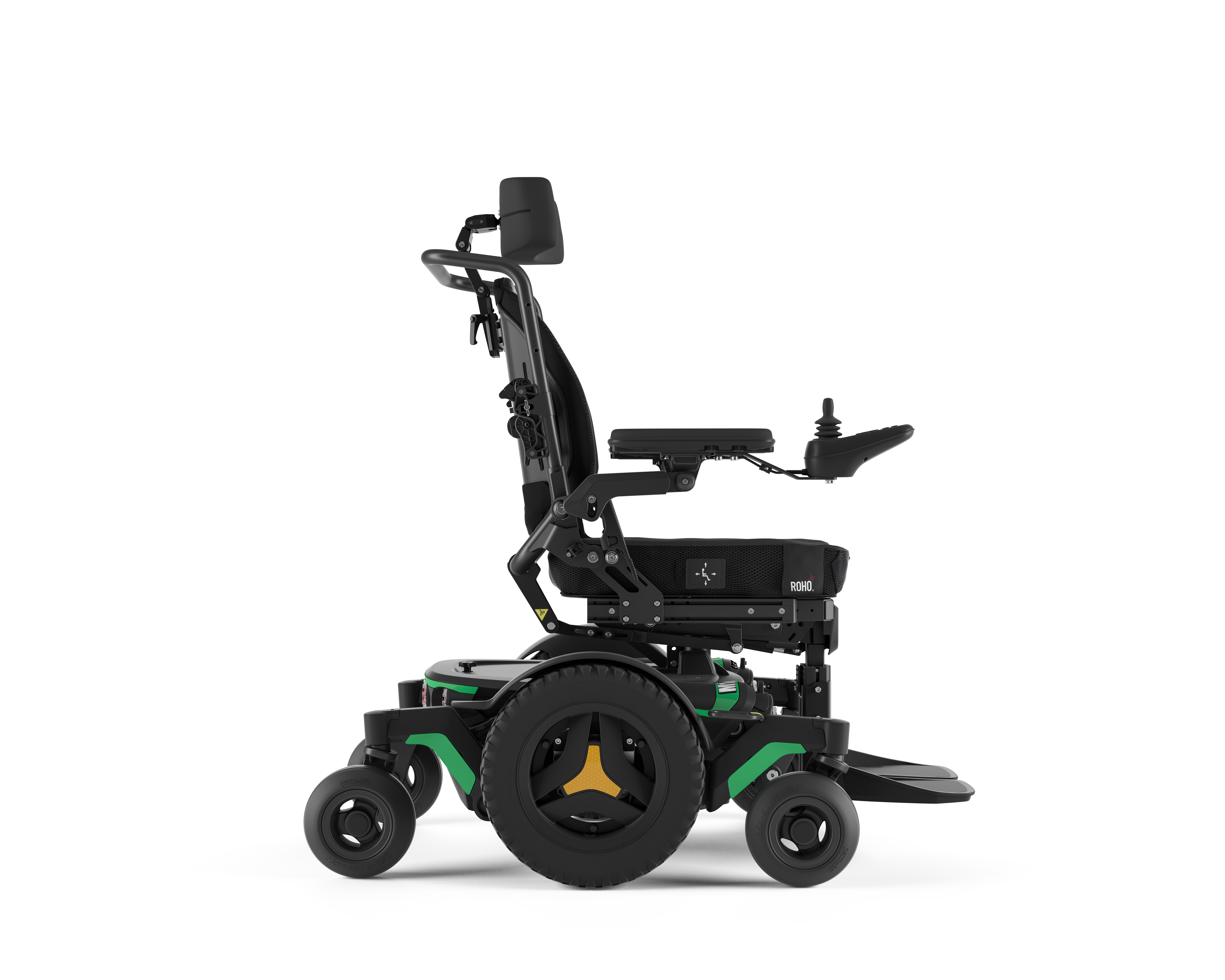 The Right-Side of Permobil M1 Power Wheelchair.
