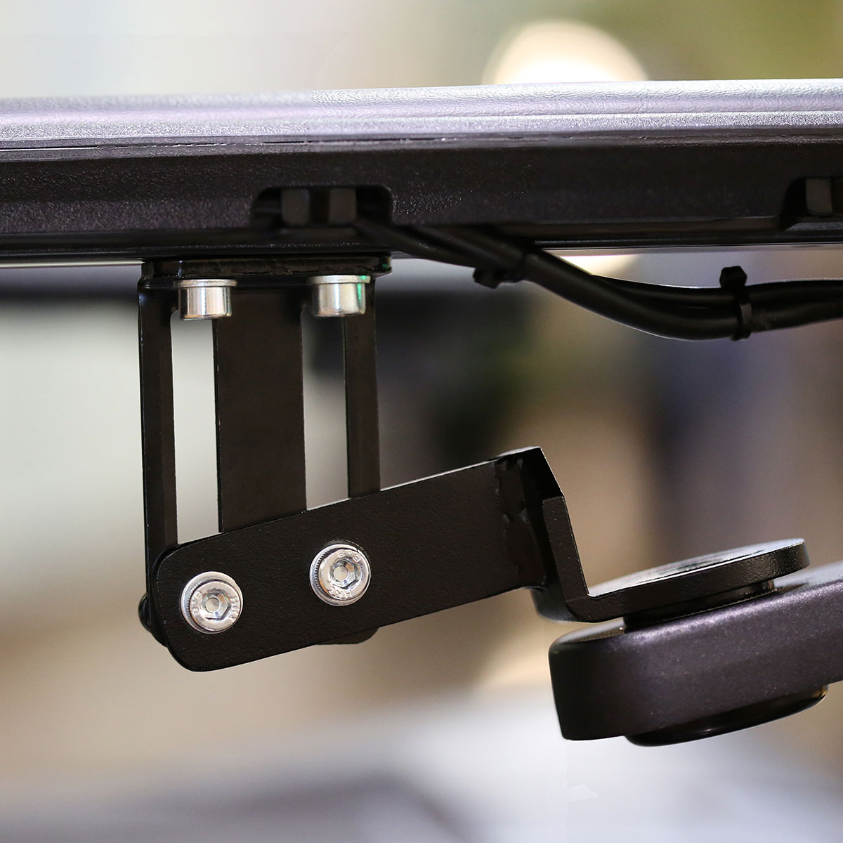 An Adjustable Mounts and Height Bracket