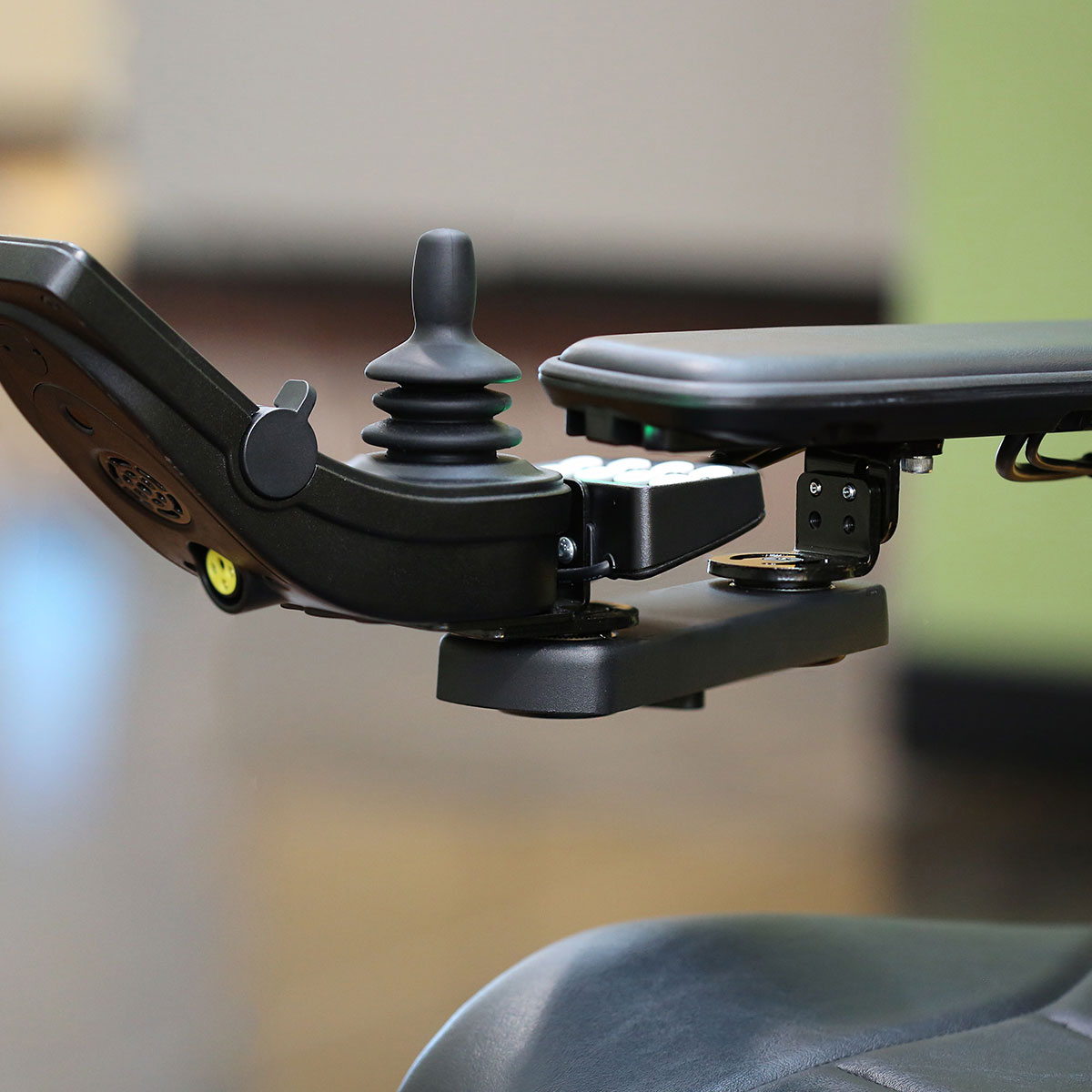 Permobil Rear Retractable Joystick