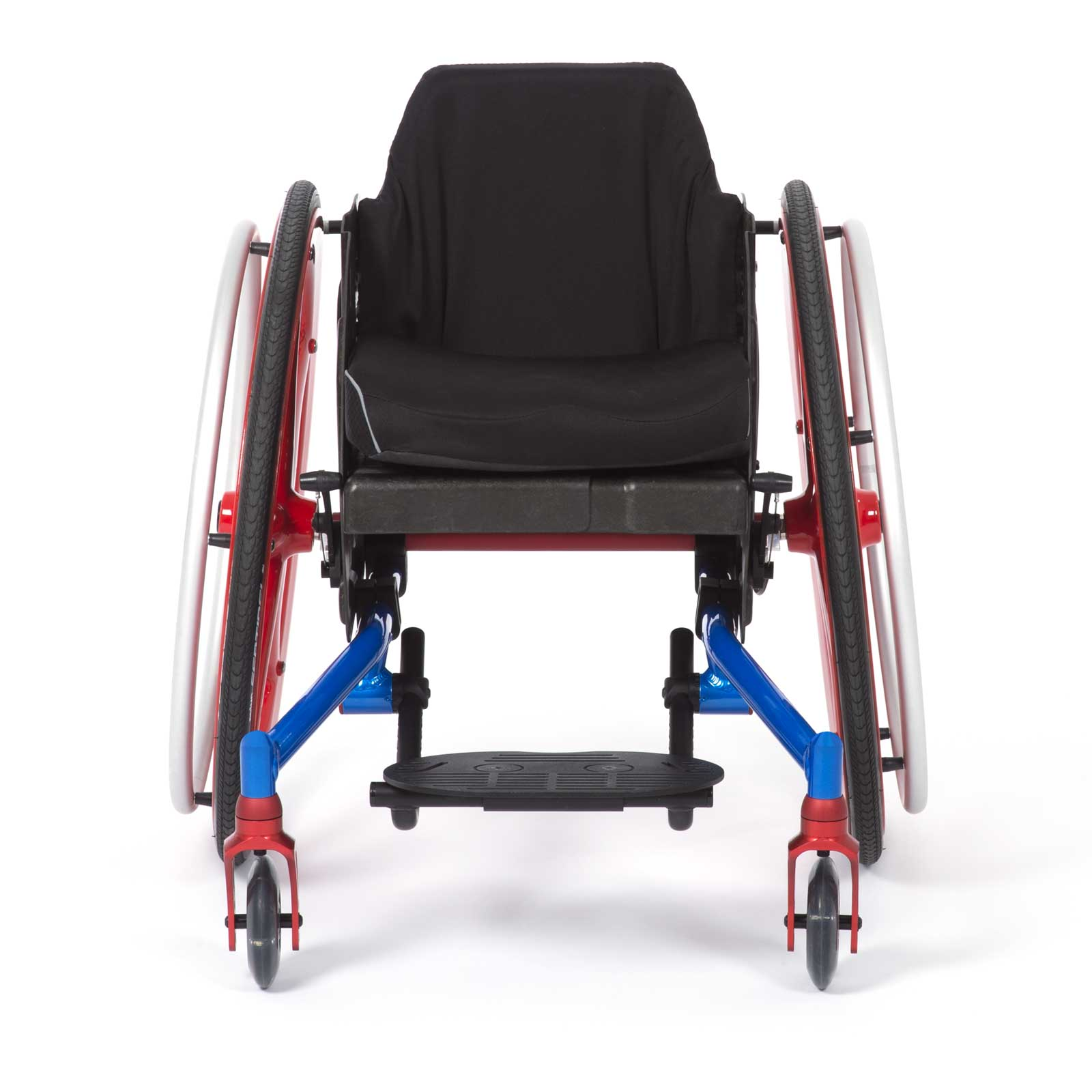 Permobil Front view of TiLite Pilot Wheelchair