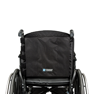 The Back Elements of Black Wheelchair