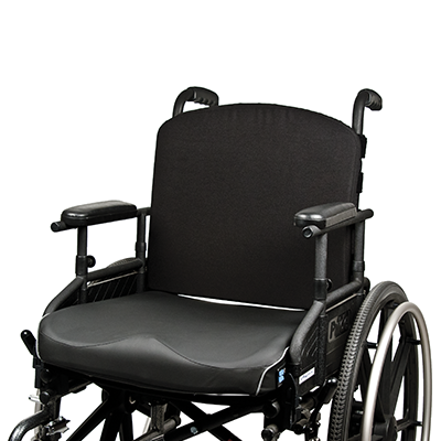 Front of Elements black wheelchair