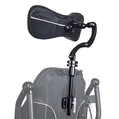 Permobil Head Support of wheelchair