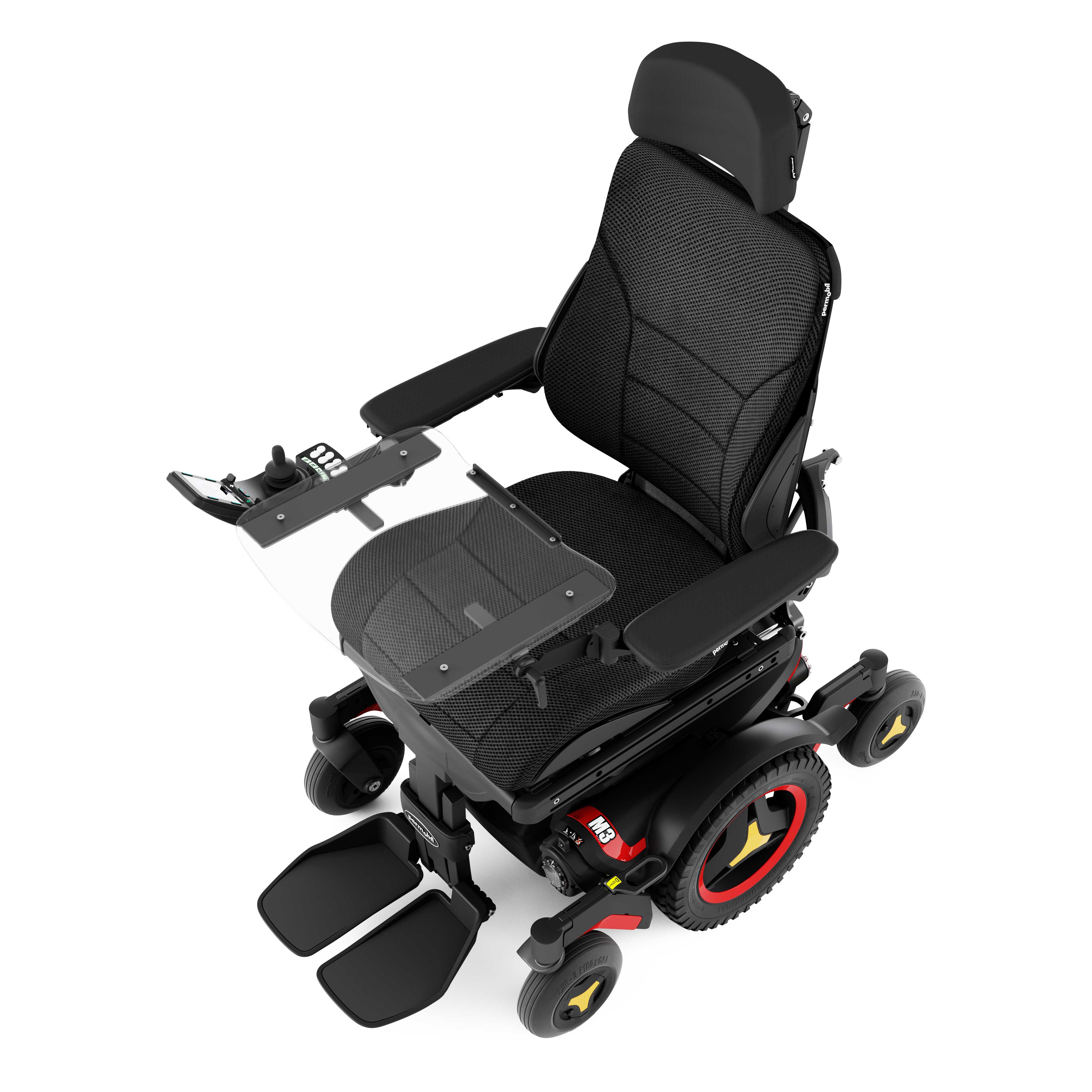 Permobil Tray of Power Wheelchair