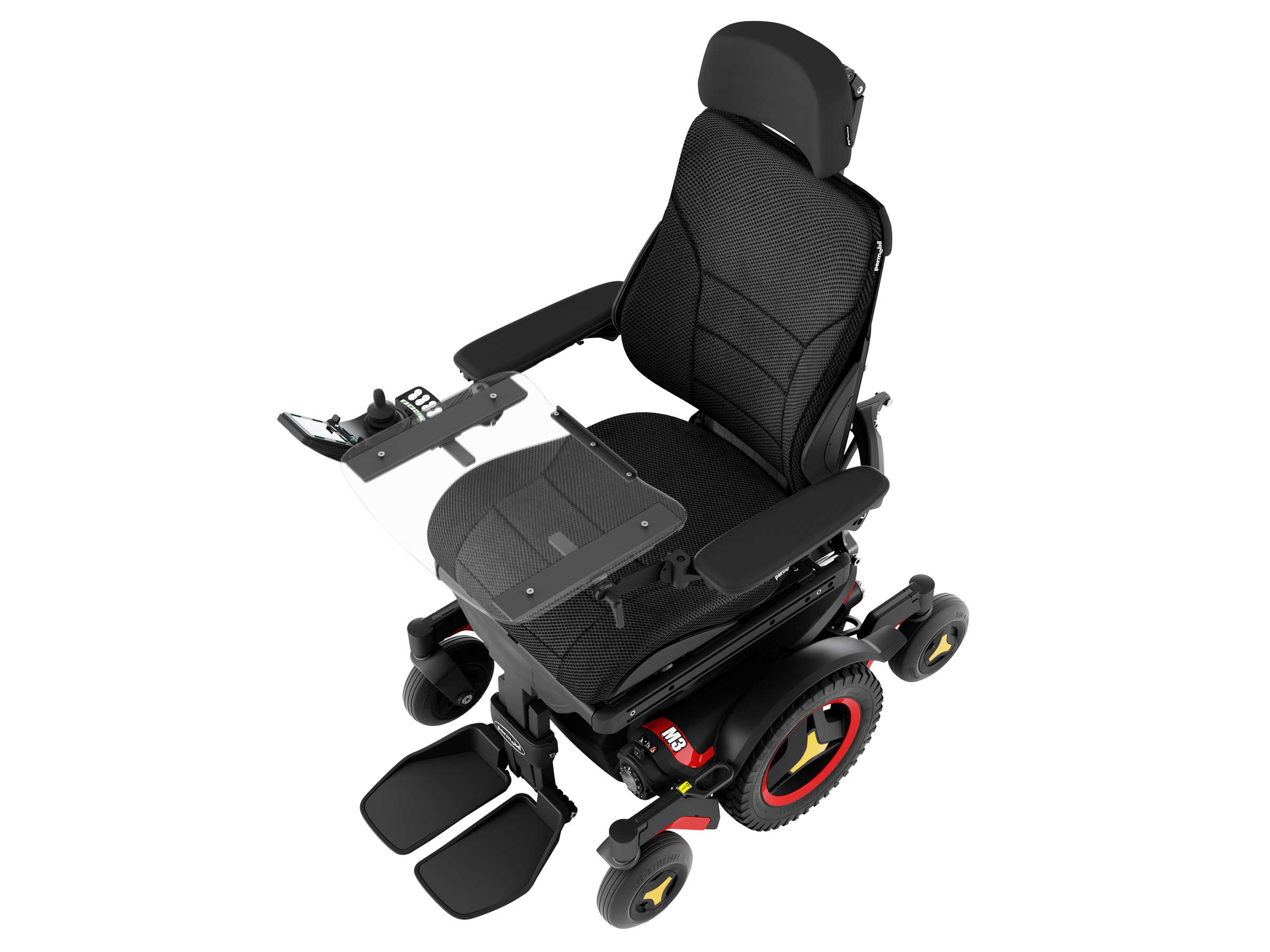 Tray Angle of Power Wheelchair