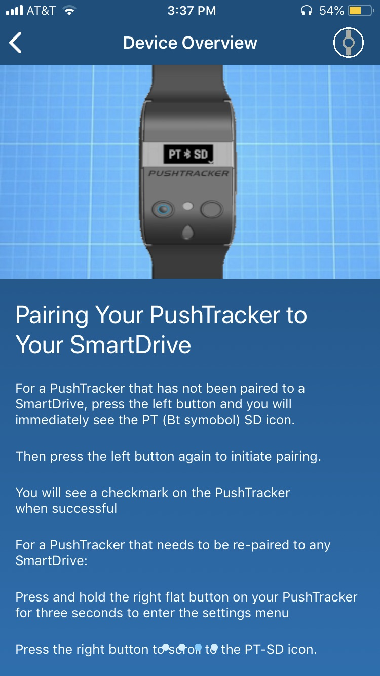 Permobile Device Overview to Smart Drive