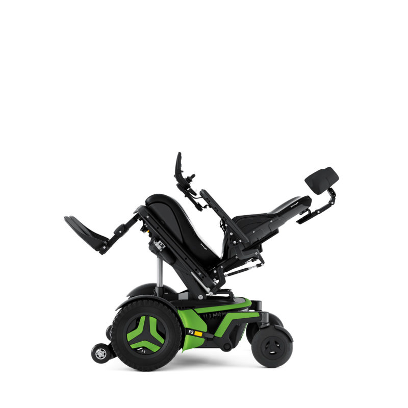 F3 Corpus Tilt Permobil Power Wheelchair.