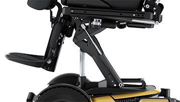 Permobil F5VS Gold Active Height Feature