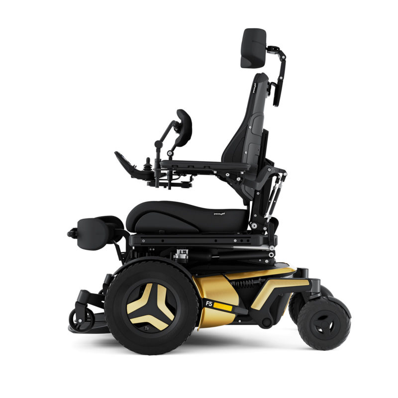Permobil F5VS_Gold_Left2019