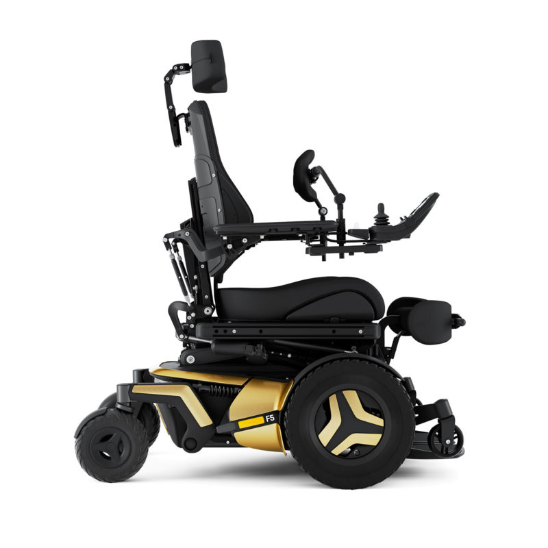 Permobil F5VS_Gold_Right2019